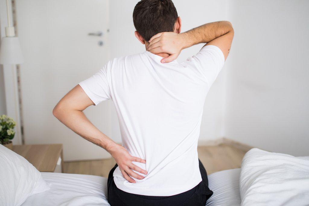 skausmas nugaros apacioje