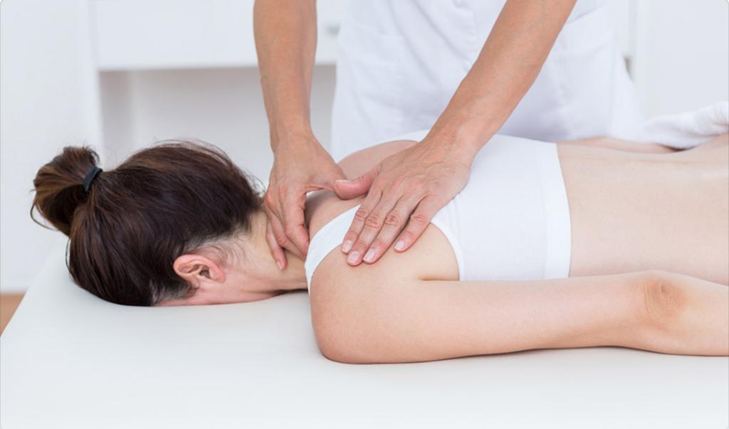 Nugaros skausmas viršutinėje dalyje